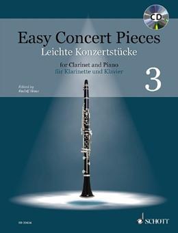 Abbildung von Mauz | Easy Concert Pieces | 2019 | Band 3. Klarinette und Klavier...
