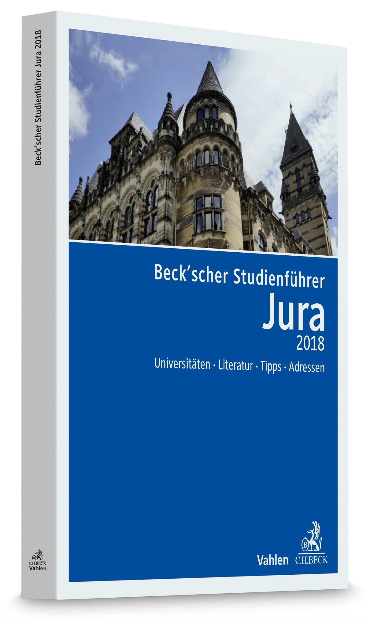 Beck'scher Studienführer Jura Sommersemester 2018, 2018 | Buch (Cover)
