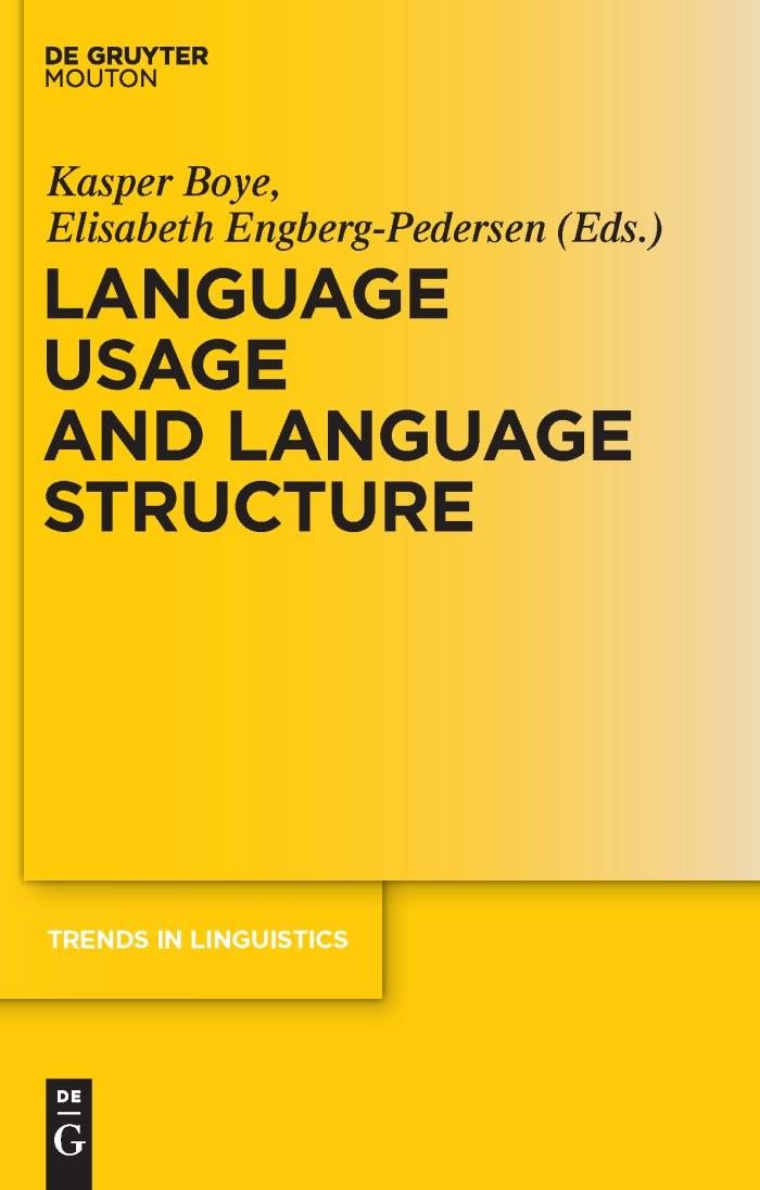 Abbildung von Boye / Engberg-Pedersen | Language Usage and Language Structure | 2010