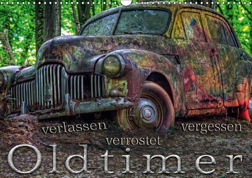Oldtimer - verlassen verrostet vergessen (Wandkalender 2019 DIN A3 quer) | Adams Foto-You. De | 6. Edition 2018, 2018 (Cover)