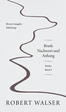 Abbildung von Walser / Stocker | Werke und Briefe. Berner Ausgabe | 1. Auflage | 2018 | beck-shop.de