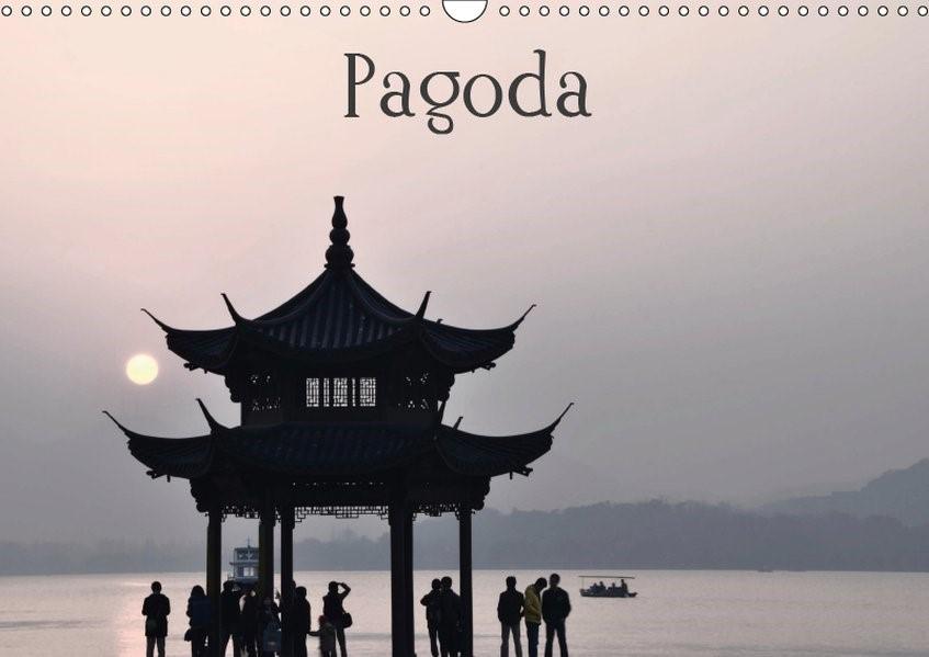 Pagoda (Wandkalender 2019 DIN A3 quer)   Brandl (Www. Photonmix. Com)   6. Edition 2018, 2018 (Cover)