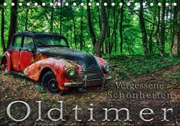 Abbildung von Adams   Oldtimer - Vergessene Schönheiten (Tischkalender 2019 DIN A5 quer)   6. Edition 2018   2018   Fotografien abgesteller Oldtim...