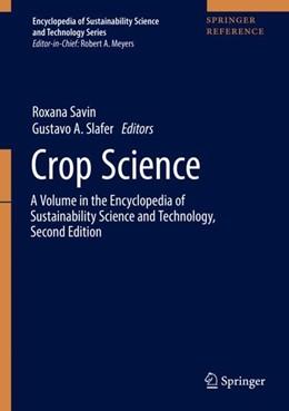 Abbildung von Savin / Slafer | Crop Science | 1st ed. 2019 | 2019