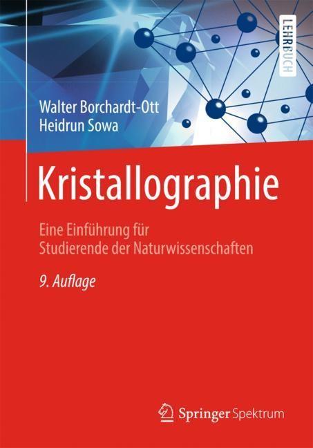 Abbildung von Borchardt-Ott / Sowa | Kristallographie | 9. Aufl. 2018 | 2018