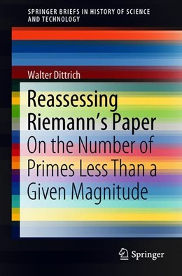 Abbildung von Dittrich | Reassessing Riemann's Paper | 1st ed. 2018 | 2018 | On the Number of Primes Less T...