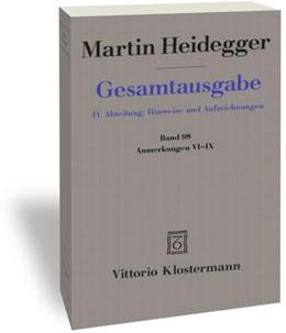 Abbildung von Heidegger / Trawny | Anmerkungen VI-IX | 1. Auflage | 2018 | beck-shop.de