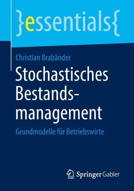 Stochastisches Bestandsmanagement | Brabänder, 2018 | Buch (Cover)