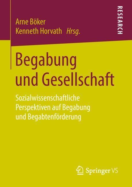 Abbildung von Böker / Horvath | Begabung und Gesellschaft | 2018