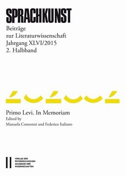 Abbildung von Rössner / Höller | Sprachkunst. Beiträge zur Literaturwissenschaft / Sprachkunst Jahrgang XLVI/2015 2.Halbband | 1. Auflage | 2018 | beck-shop.de