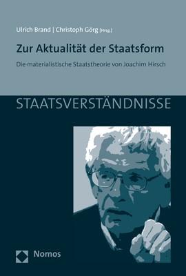Zur Aktualität der Staatsform | Brand / Görg, 2018 | Buch (Cover)