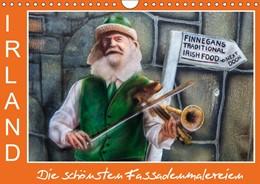Abbildung von Böhme | IRLAND - Die schönsten Fassadenmalereien (Wandkalender 2019 DIN A4 quer) | 5. Edition 2018 | 2018 | Farbenfroh und originell - mal...