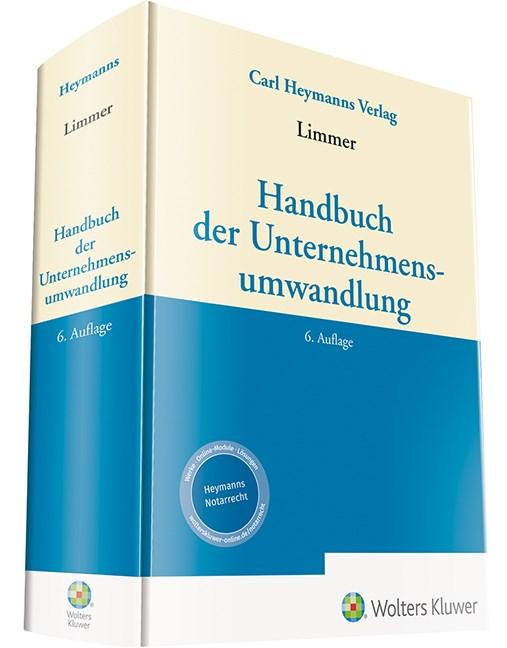 Abbildung von Limmer (Hrsg.) | Handbuch der Unternehmensumwandlung | 6. Auflage | 2019