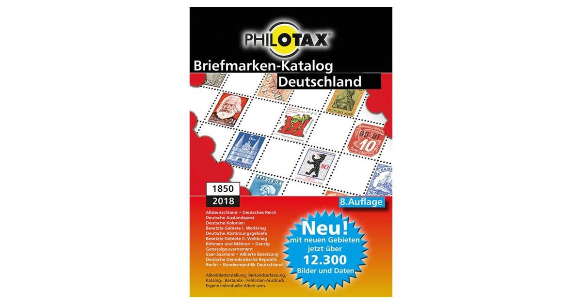 Philotax Briefmarken Katalog Deutschland Philotax Gmbh 8auflage