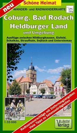 Abbildung von Coburg, Bad Rodach, Heldburger Land und Umgebung 1:35 000 | 1. Auflage, Laufzeit bis 2023 | 2017 | Ausflüge zwischen Hildburghaus...