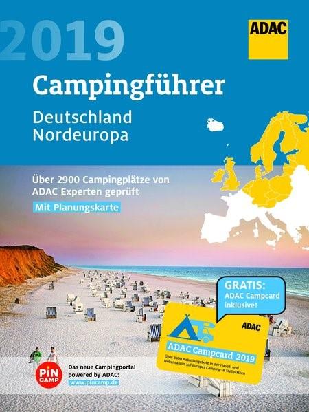 ADAC Campingführer Deutschland & Nordeuropa 2019, 2018 | Buch (Cover)