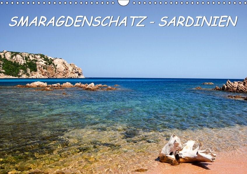 SMARAGDENSCHATZ - SARDINIEN (Wandkalender 2019 DIN A3 quer) | Braschi | 6. Edition 2018, 2018 (Cover)