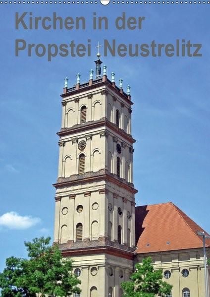 Abbildung von Mellentin | Kirchen in der Propstei Neustrelitz (Wandkalender 2019 DIN A2 hoch) | 3. Edition 2018 | 2018