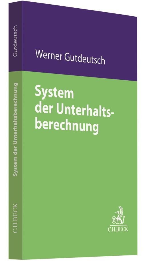 System der Unterhaltsberechnung | Gutdeutsch, 2018 | Buch (Cover)