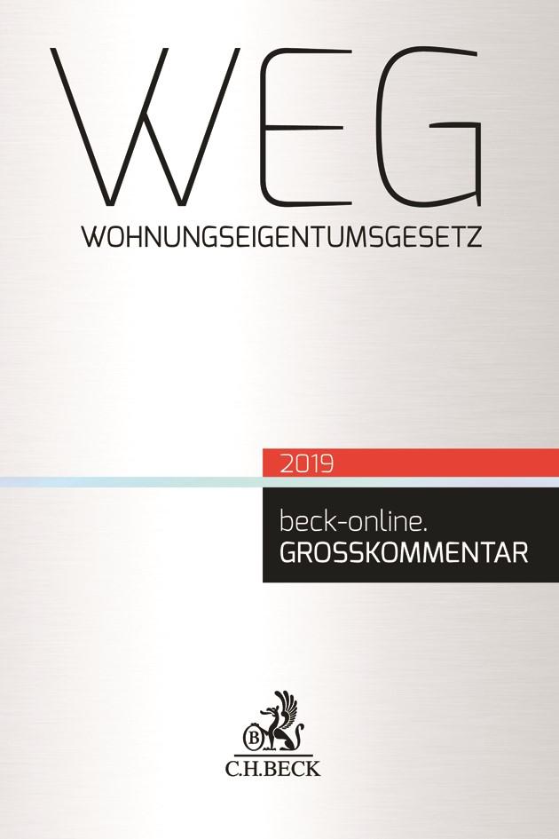 WEG, 2019 | Buch (Cover)