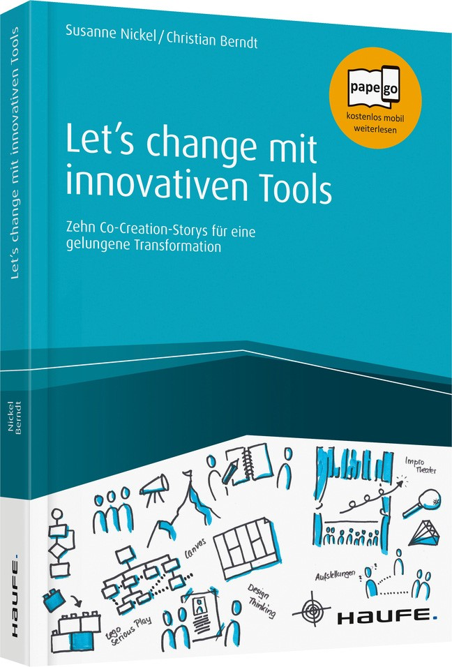 Let's change mit innovativen Tools | Nickel / Berndt, 2018 | Buch (Cover)