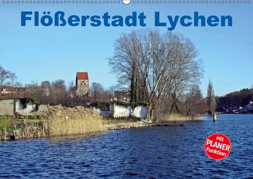 Abbildung von Mellentin | Flößerstadt Lychen (Wandkalender 2019 DIN A2 quer) | 3. Edition 2018 | 2018