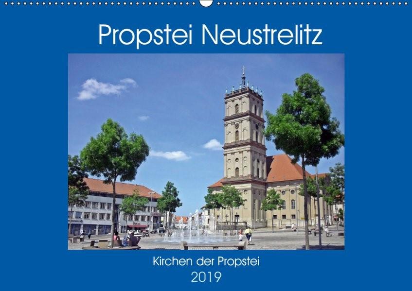 Abbildung von Mellentin | Propstei Neustrelitz - Kirchen der Propstei (Wandkalender 2019 DIN A2 quer) | 3. Edition 2018 | 2018