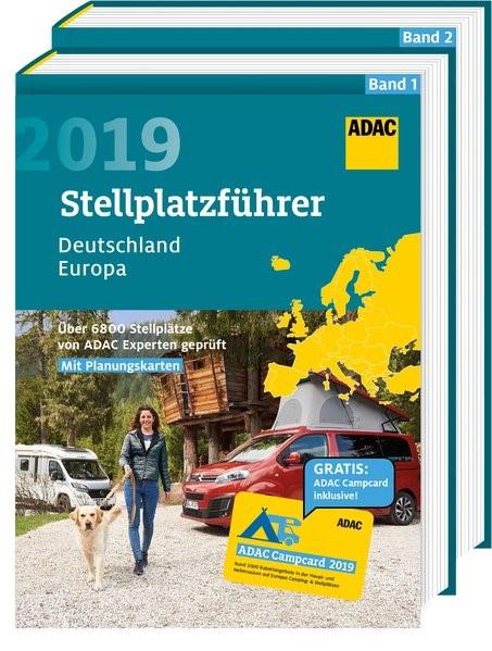 ADAC Stellplatzführer Deutschland/Europa 2019 | Auflage 2019, 2018 | Buch (Cover)