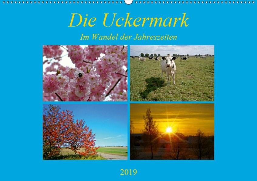 Abbildung von Mellentin   Die Uckermark im Wandel der Jahreszeiten (Wandkalender 2019 DIN A2 quer)   3. Edition 2018   2018