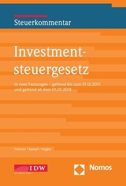 Abbildung von Patzner / Kempf   Investmentsteuergesetz   1. Auflage   2018   beck-shop.de