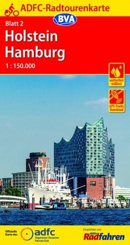 Abbildung von ADFC-Radtourenkarte 2 Holstein Hamburg 1:150.000 | 16. Auflage | 2018