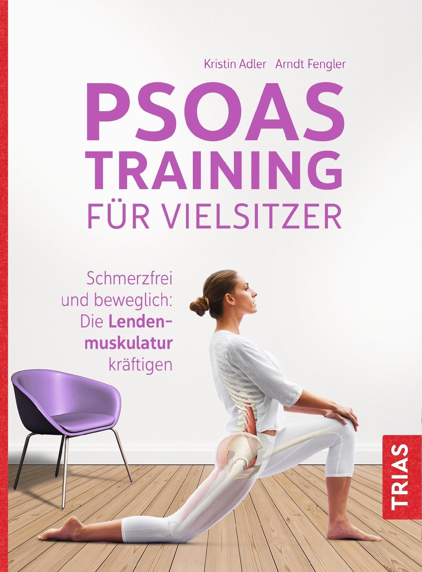 Psoas-Training für Vielsitzer | Adler / Fengler, 2018 | Buch (Cover)