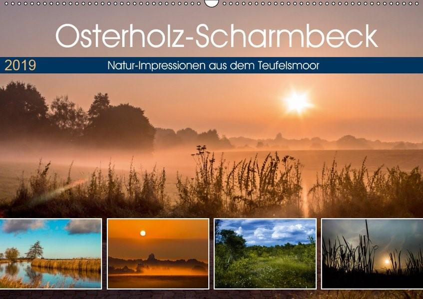 Abbildung von Adam | Osterholz-Scharmbeck, Natur-Impressionen aus dem Teufelsmoor (Wandkalender 2019 DIN A2 quer) | 3. Edition 2018 | 2018