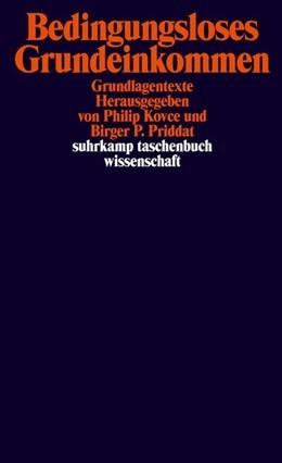 Abbildung von Kovce / Priddat   Bedingungsloses Grundeinkommen   Originalausgabe   2019   Grundlagentexte