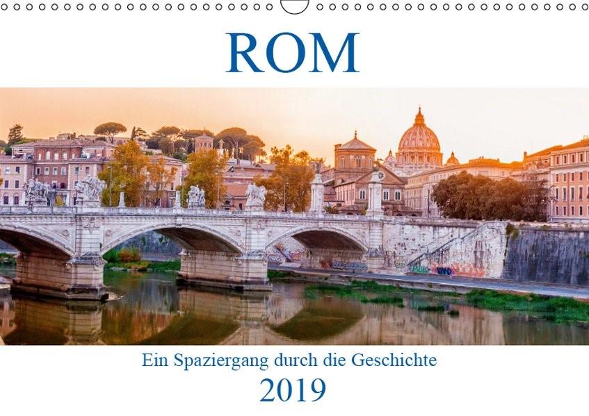 Abbildung von :: Fotodesign | ROM - Ein Spaziergang durch die Geschichte (Wandkalender 2019 DIN A3 quer) | 3. Edition 2018 | 2018