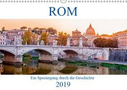 Abbildung von :: Fotodesign | ROM - Ein Spaziergang durch die Geschichte (Wandkalender 2019 DIN A3 quer) | 3. Edition 2018 | 2018 | Ein historischer Rundgang durc...
