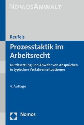Prozesstaktik im Arbeitsrecht | Reufels | 4. Auflage, 2018 | Buch (Cover)