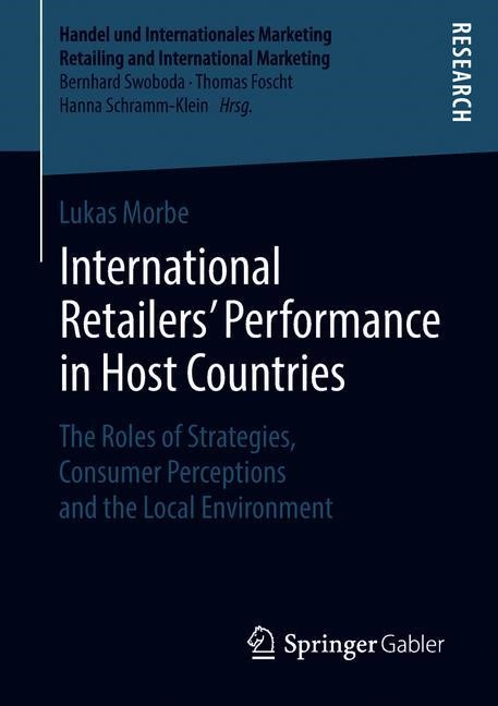 International Retailers' Performance in Host Countries | Morbe, 2018 | Buch (Cover)