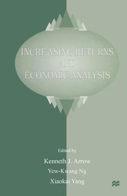 Abbildung von Arrow | Increasing Returns and Economic Analysis | 1998