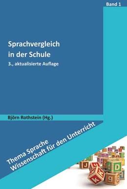 Abbildung von Rothstein | Sprachvergleich in der Schule | 3. Auflage | 2018 | beck-shop.de