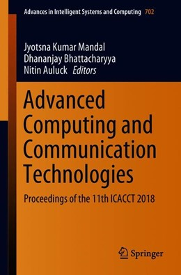 Abbildung von Mandal / Bhattacharyya / Auluck | Advanced Computing and Communication Technologies | 2018 | Proceedings of the 11th ICACCT...