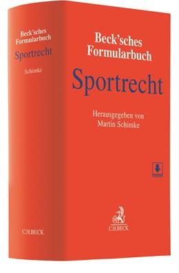 Abbildung von Beck'sches Formularbuch Sportrecht | 1. Auflage | 2021 | beck-shop.de