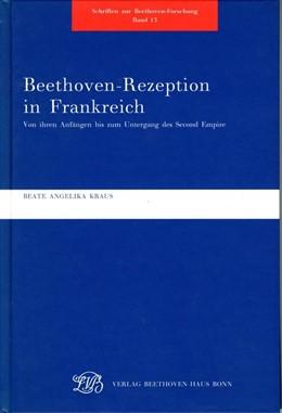 Abbildung von Kraus | Schriften zur Beethovenforschung | 2001 | Bd. 13: Beethoven-Rezeption in...