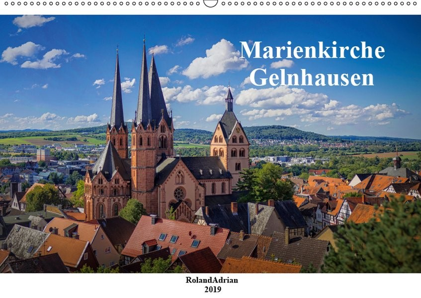 Abbildung von Adrian | Marienkirche Gelnhausen (Wandkalender 2019 DIN A2 quer) | 3. Edition 2018 | 2018