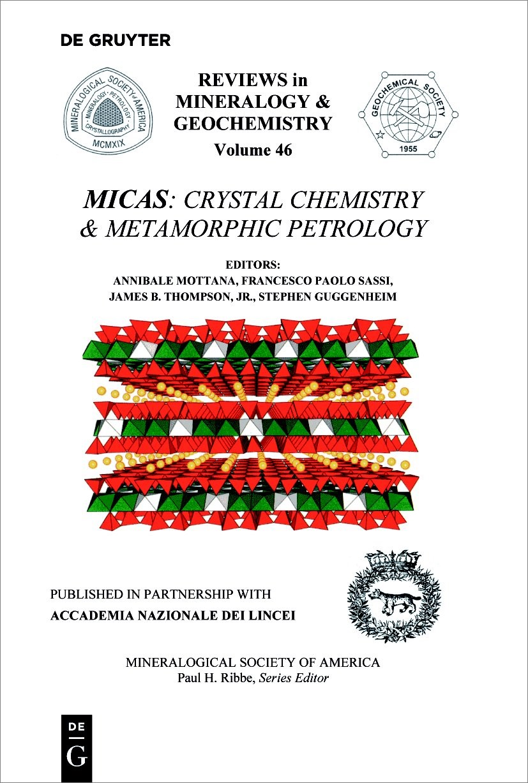 Micas | Mottana / Sassi / Thompson / Guggenheim, 2018 | Buch (Cover)