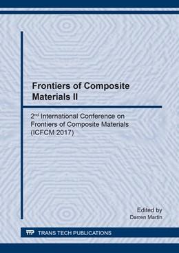 Abbildung von Martin   Frontiers of Composite Materials II   2018   2nd International Conference o...   Volume 923