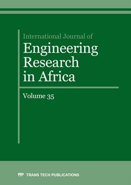 Abbildung von International Journal of Engineering Research in Africa Vol. 35 | 1. Auflage | 2018 | Volume 35 | beck-shop.de
