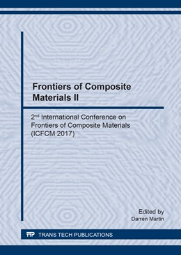 Abbildung von Martin | Frontiers of Composite Materials II | 2018 | 2nd International Conference o... | Volume 923