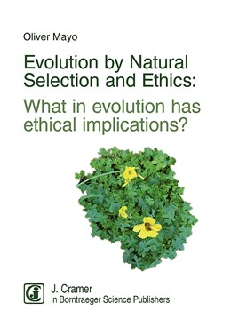 Abbildung von Mayo | Evolution by Natural Selection and Ethics | 2018 | What in evolution has ethical ...