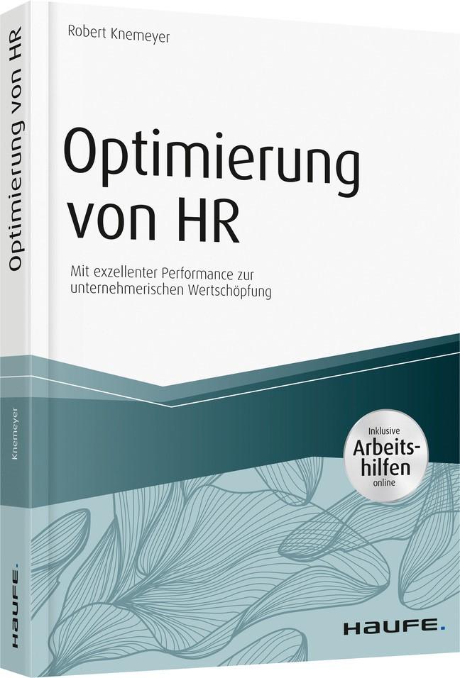 Optimierung von HR - inkl. Arbeitshilfen online | Knemeyer | 1. Auflage 2018, 2018 | Buch (Cover)